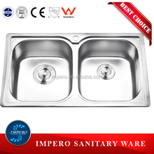 Foshan impero manufacturer cheap stainless steel kitchen sinks