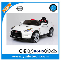 New Lisenced Nissan GTR R35 Ride on cars ,2.remote control baby electric car,kids battery powered Mp3 SD USB Player ride on toys