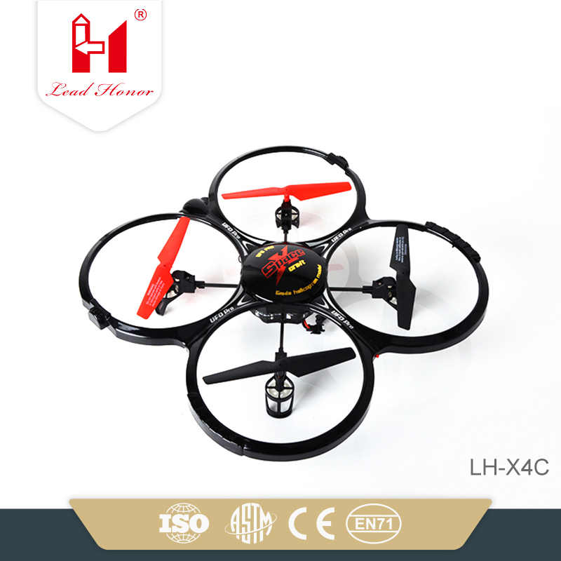Unique 2.4 aircraft drone flight controller with 0.3mp camera