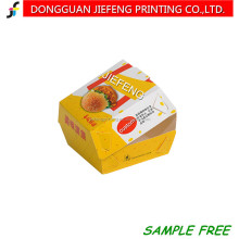 China take away popcorn chicken paper box degradable food packing boxes fast food packaging box
