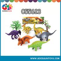 2016 Plastic simulation dinosaurs play set grabber dinosaurs toys 055623