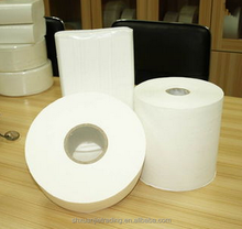 Virgin Wood Pulp 2 Ply embossed toilet paper jumbo roll toilet paper raw material of toilet paper