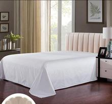 Factory wholesale 200 thread count durable cotton hospital bed sheet blanket