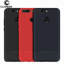 Bulk Buy From China Shockproof Soft Silicone Carbon Fiber Phone Case Cover For Huawei Honor V9 Y3 Y7 Enjoy 7 Plus Case TPU