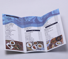 Custom Fashion Game Thick Art Card Paper Leaflet And Leaflet Design Sample Printing CYMK Color Flyer Printing