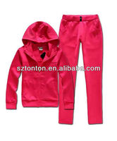 2013 fashion ladies jogging suit
