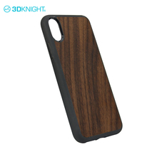 Unique design wooden bamboo cover phone shell for Iphone 8 wood mobile case
