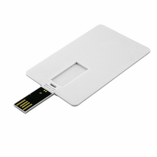 2017 Hot selling Slim Business Credit Card USB Flash Drive with Logo Printing