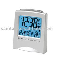 Colorful clock calendar timer table weather station lcd alarm clock LD30147
