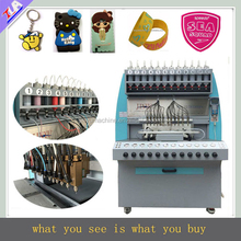 JY-B02 full-automatic Silicone Machine for bracelet/iphone/mobile phone/trademark making