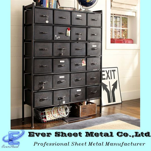 China manufacturer xiamen factory sale guaranteed quality vintage metal/steel file cabinets manufacture and fabrication