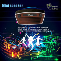 Super bass, portable active, wireless, waterproof Bluetooth MP3 speaker