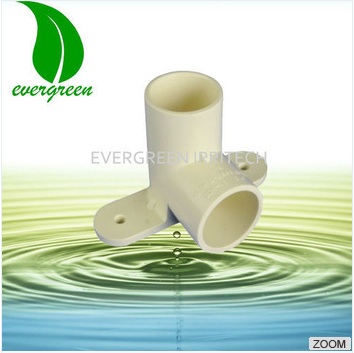 upvc cpvc pprc pipe fittings CPVC 90 elbow pipe fittings with bracket