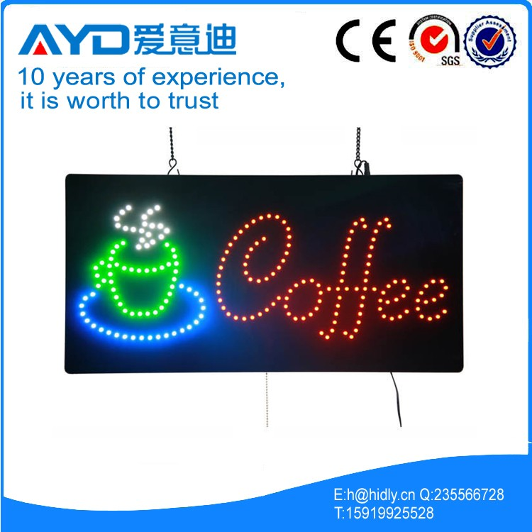 Indoor Electronic LED Sign, Programmable LED Sign Display