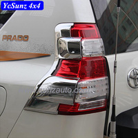 2014 Land Cruiser Prado FJ150 2014 ABS Chrome Tail Light Cover for Land Cruiser 150 Accessories