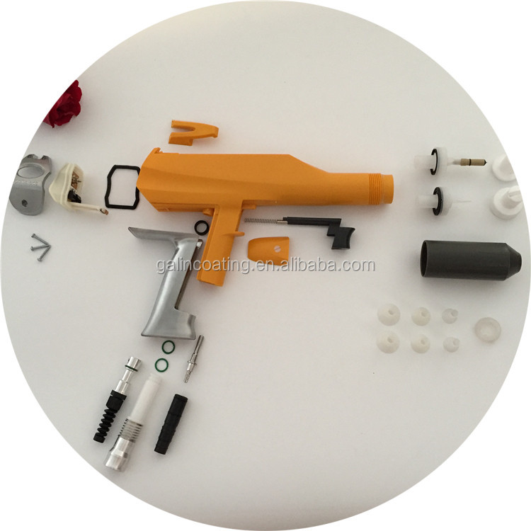 Gema powder coating spray gun spare parts
