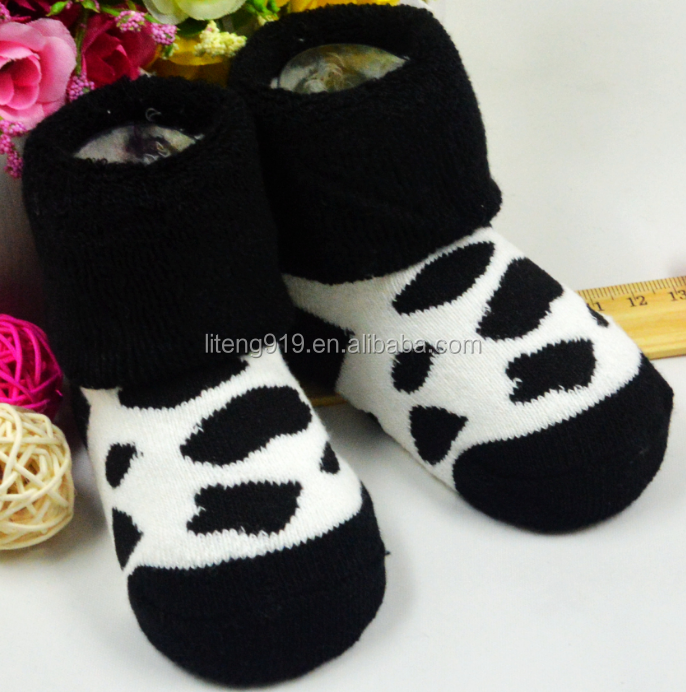 Boys Girls Warmer Cute Socks Turn Cuff for 0-36 Months ET-01