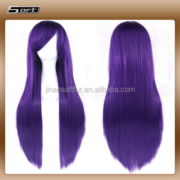 Funny synthetic naruto cosplay wig factory price