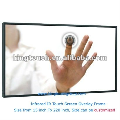 2 4 6 10 touch points 23.6 inch Infrared touch frame panel
