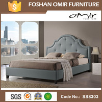 latest italian furniture designs king size luxury princess bed S8303