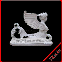 Large Outdoor Roman Stone Angel Figurines (YL-R137)