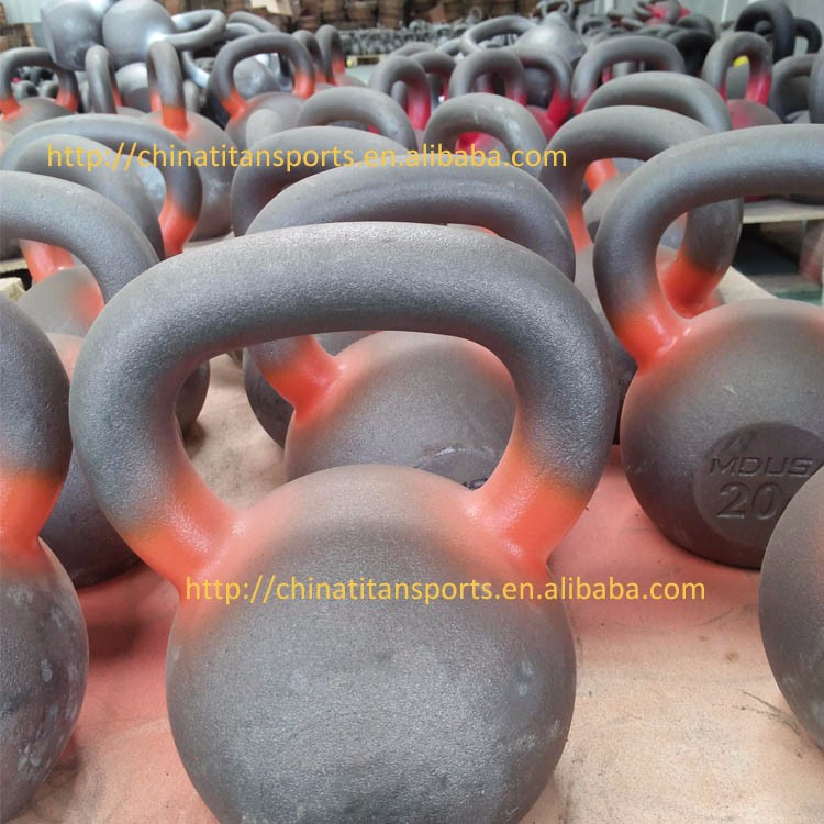 Exquisite detail Gym Custom Cast Iron Kettle Bells
