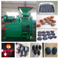 CE and ISO certificates patented coal dust briquette machine