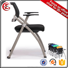 Foshan origin folding foldable chair 1002E-31 foldable office chair available with table or tablet