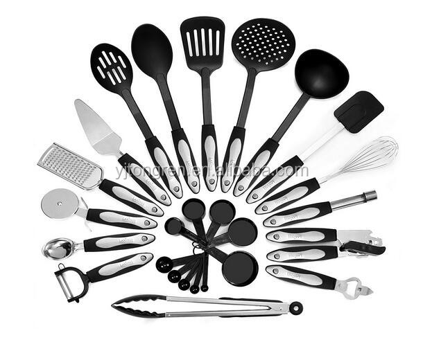 26 Piece kitchen baking cooking equipments tools and utensils and their uses
