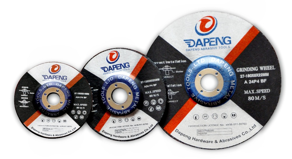 125x3x22mm Abrasive disc cutting disc for grinders