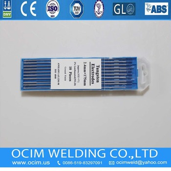 WL20 Lanthanated Grinding Tungsten Electrodes 3.2mm