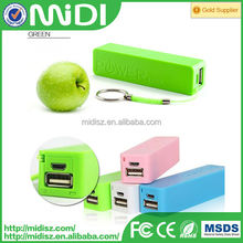 Manufacture universal perfume 2600 mah power bank from Sandy for all samrt phone