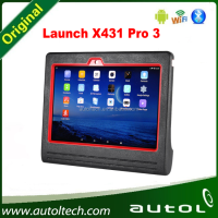 2016 Latest Launch X431 PRO3 V2.0 Scanpad X-431 Pro 3 Car Diagnostic Tool Global update
