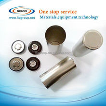 Lithium cylindrical battery cases for 18650 26650 32650 with Anti-Explosive Cap and Insulation O-ring