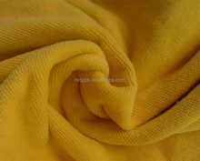 wholesale 100% cotton cut pile terry cloth fabric for bathrobe and towel