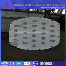 floating valve tray industrial rectification distillation column