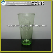 Original colored drinking glass