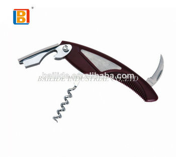 2018 Hot Selling Blown Promotion Fancy Stainless Steel Multifunction Wine And Beer Corkscrew Bottle Opener Gift Items