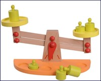 Contemporary export educational toy balance scale toys