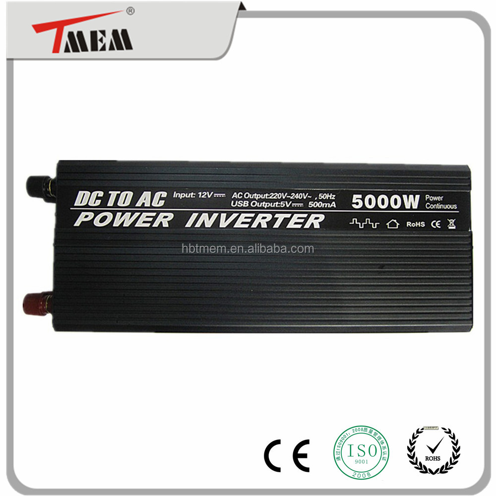 5000w power inverter system dc 12v to ac 220v power inverter for home appliance