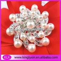 Luxury Pearl &Rhinestone brooch Jewelry for Wedding decoration