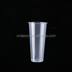 2017 hot selling products, BPA FREE 700ml plastic stadium cup with full color printing