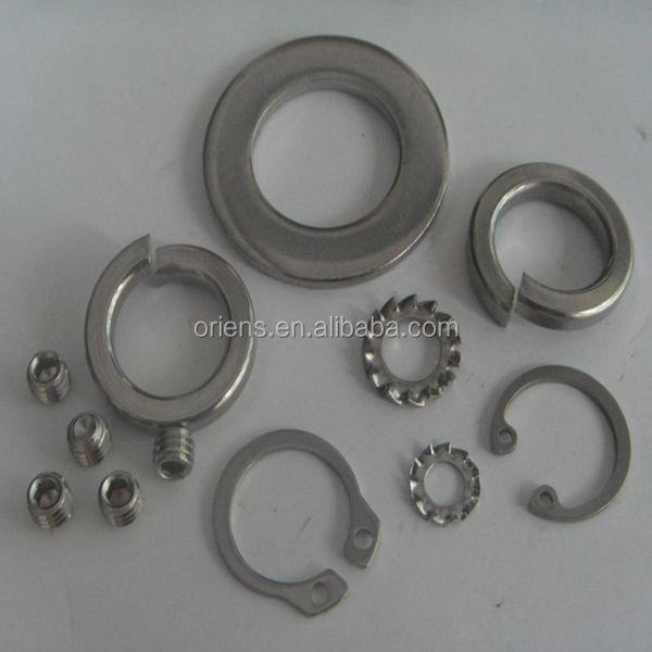 OEM Factory Made Customized Precision Rtainer Washer
