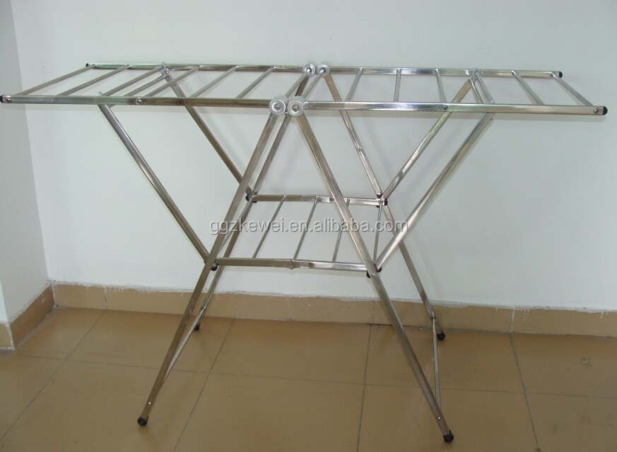 Stainless Steel  Folding Clothes Drying Racks, Multifuctional Cloth Dryer Rack Hanger Rack SFG-7019C