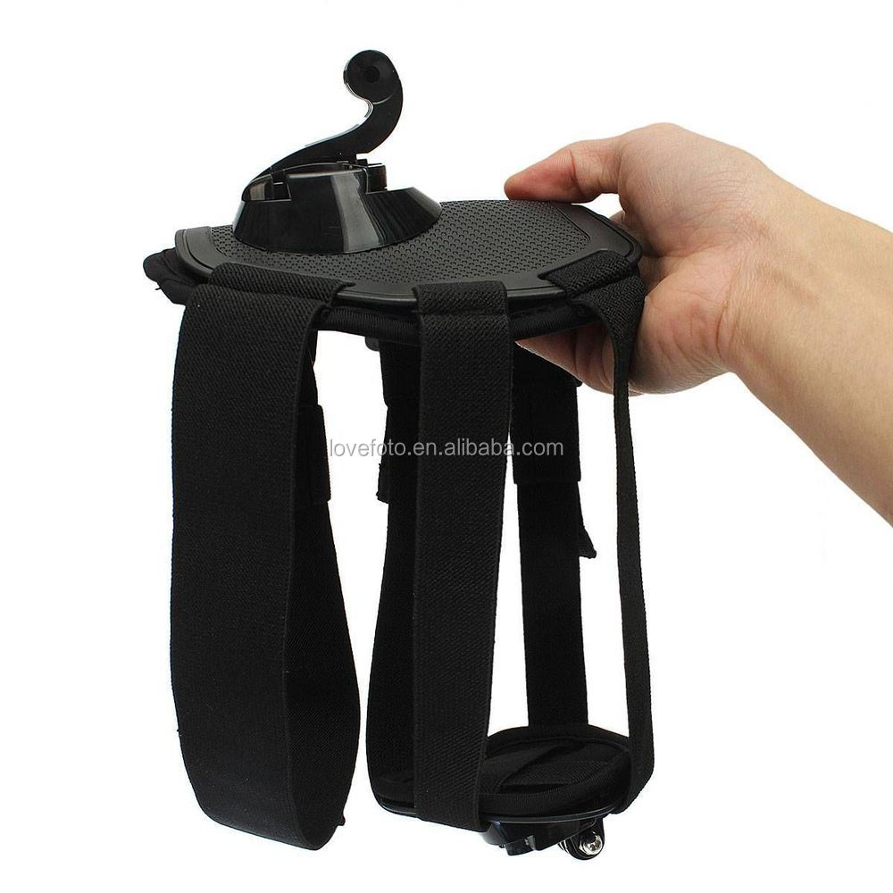 For GoPro Hero 4 3+ 3 2 Hound Dog Fetch Harness Chest Strap Belt Mount