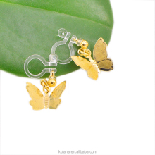 Japanese big dangle butterfly earrings resin earring BU5091