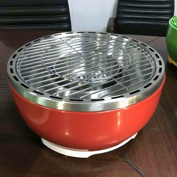 Smokeless Charcoal BBQ Grill Portable Tabletop BBQ Grill
