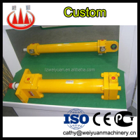 Hydraulic cylinder repair table