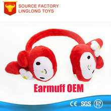 Winter Antifreeze Earflap Children Cartoon Animal Ear Cover Red Plush Fox Ear Muff