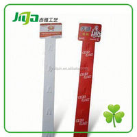 Customized plastic shelf price strip for display in China